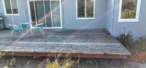 Finished deck from Everlast Construction